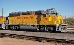 UPRR GP40-2 1391, Tucson Yard, December 24, 2009 (Ivan S. Abrams) Tags: railroad chicago phoenix up train losangeles illinois nebraska tucson railway trains unionpacific locomotive freighttrains nikkor railways locomotives railroads e9 e8 freighttrain tucsonarizona uprr railroadyard sd402 sw1500 goodstrain sd40 gp402 unionpacificrailroad sd70m c449w es44ac mp15dc bensonarizona railroadyards goodstrains nikkor70300mmvr northplattenebraska sybilarizona ivansabrams nikond700 pimacountyarizona cochisecountyarizona davidsoncanyonarizona lacienegaarizona abramsandmcdanielinternationallawandeconomicdiplomacy ivansabramsarizonaattorney ivansabramsbauniversityofpittsburghjduniversityofpittsburghllmuniversityofarizonainternationallawyer