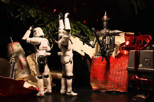 These are not the droids that were on our letter to Santa