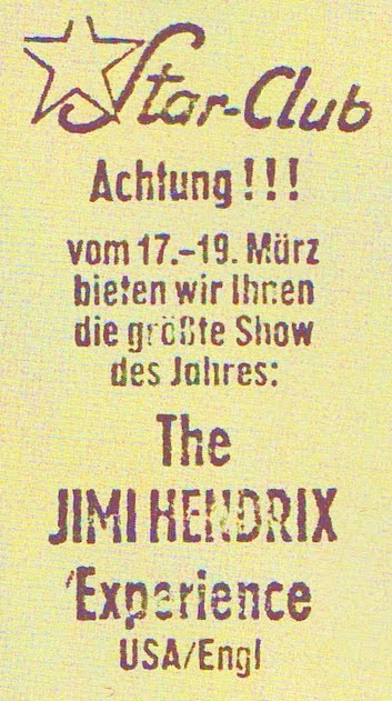 Hambourg (Star Club) : 19 mars 1967 [Second concert] 4211641087_e6ecf10b4b_o