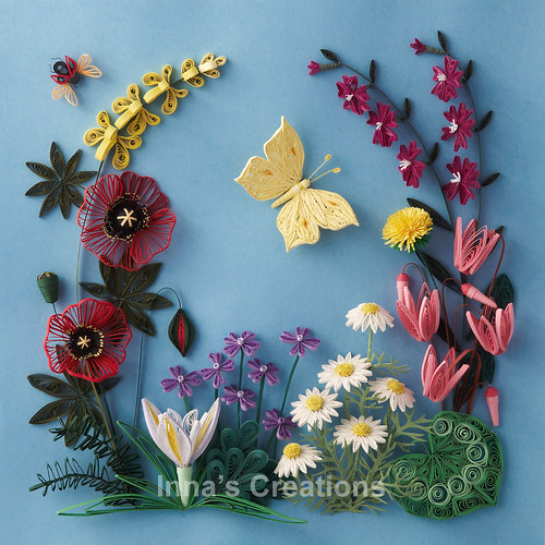 Quilling Paper Filigree Paper Quilling Flowers of