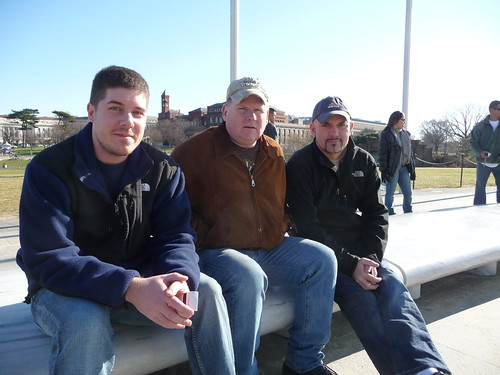 Kurt, Mike & Allen at Washington Monument