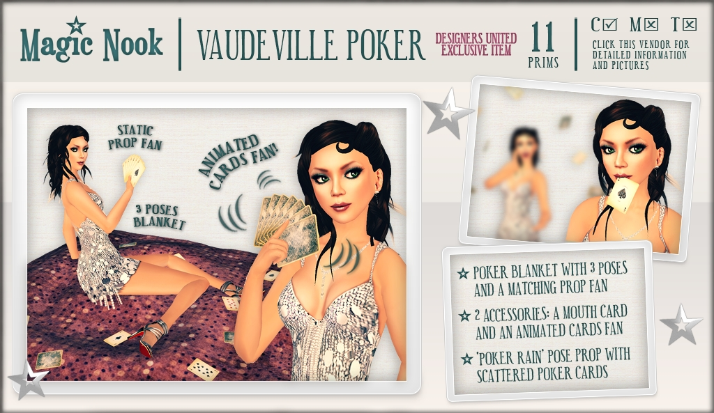 [MAGIC NOOK] Vaudeville Poker DU<3