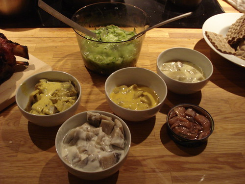 Herring, consumed with snaps. Skål! The Swedish palate favors sweet and ...