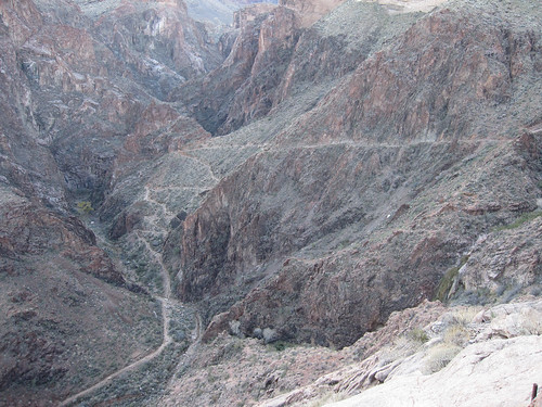 """Devils Corkscrew"" in Bright Angel Trail"