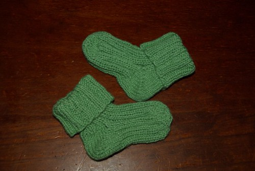 M-B's socks