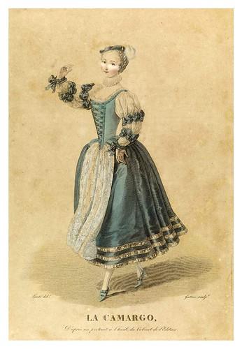 015-La Camargo-Galerie Française de femmes célèbres 1827- Louis Marie Lanté