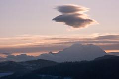 Tahoma with UFOs