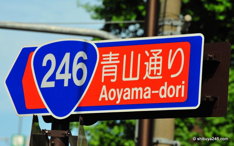 Route 246, Shibuya