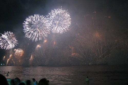 Copacabana NYE Fireworks