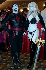 Lady Death and Mister Sinister (BelleChere) Tags: costume comic cosplay bellechere ladydeath mistersinister brianpulido