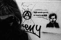 Mensaje (Leandro MA) Tags: bw grafitti leandroma