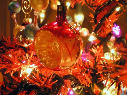 Vintage Pink Ornament