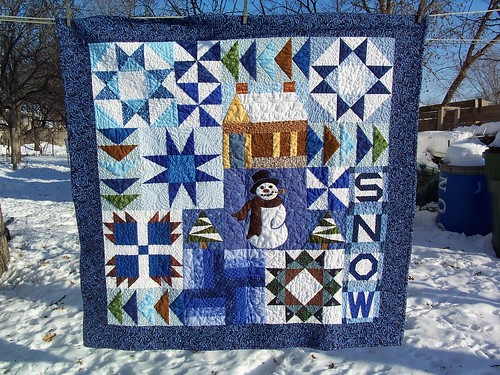 Winter Fun Wallquilt