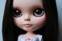 Little Aiko (erregiro) Tags: japan way carved eyes doll almond makeup lips sugar east special gloss blythe mold custom milky mws sbl japanesse characterization erregiro
