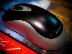 POTD-7: Mouse (uhhey) Tags: computer mouse potd microsoft