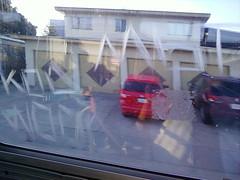 wood (graffiti oakland) Tags: wood bus window graffiti oakland mbt kod wbf