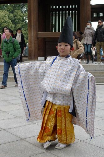 Onmyoji kid posed for me