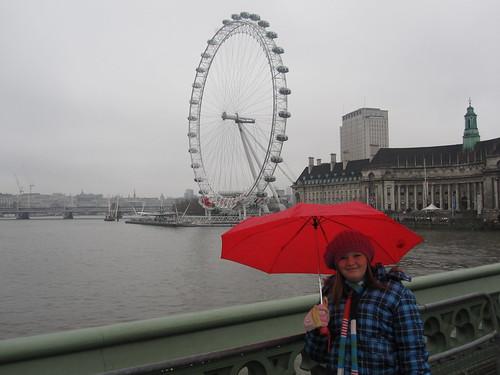 Jordan, London Eye