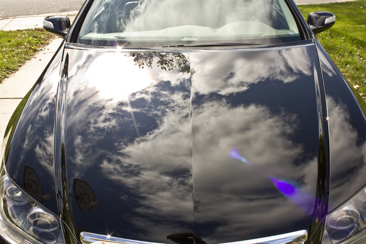 Acura RL after detail