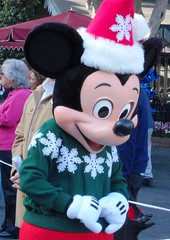 Merry Christmas Mickey! (PirateTinkerbell) Tags: california christmas ca winter holiday cold mouse nikon holidays december disneyland katie disney mickey 124 09 mickeymouse anaheim dslr friday 2009 dl dlr christmastime disneylandresort 1209 disneylandpark anaheimca d40 december4 anaheimcalifornia 12409 disneyparks nikond40 disneylandchristmas 122009 december2009 disney2009 disneylandwinter disneyland2009 1242009 december42009 piratetinkerbell disneyparks2009 fridaydecember42009