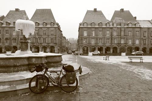 Charleville-Mezieres main square...