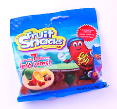 Jelly Belly Fruit Snacks Bag