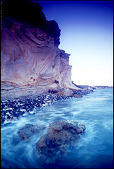 Alaminos coastal cliffs (-Filippos-) Tags: nature water coast rocks mediterranean cyprus cliffs alaminos