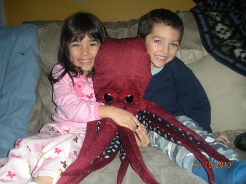 Octopus 1 with Kids