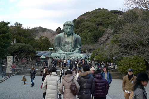 The famous Kamakura Great Buddha