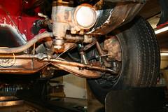 1969 AMC AMX undercarriage restoration