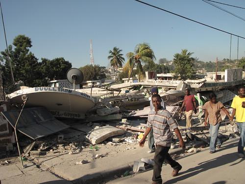 Edifici distrutti, Port-au-Prince