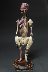 Dancer (Female Nude) (Shain Erin) Tags: original sculpture abstract monster doll mixedmedia ooak fineart surreal artdoll figurative deformed femalenude humanfigure