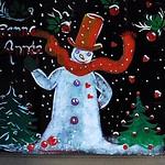 10 - 17 janvier 2010 Paris 64 rue Saint-Lazare Décoration de Noël thumbnail
