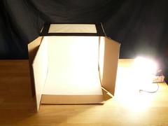 new Macro lightbox: setup shot