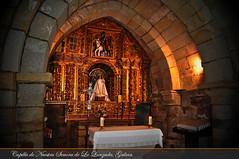 The altar inside Capilla de Nuestra Señora de La Lanzada