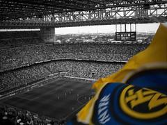 Pazza Inter,Amala. (Joe[insanely]) Tags: milan sansiro derby calcio inter vittoria campionato mourinho