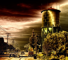 North Park, San Diego (Artypixall) Tags: street sandiego homeless watertower nikond50 legacy northpark greatphotographers stealingshadows awardtree miasbest daarklands flickrvault trolledproud exoticimage