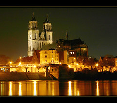 Magdeburg: Dom + Elbe