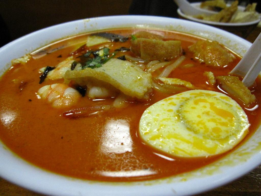 Singapore Curry Laksa