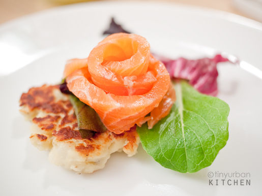 Salmon Potato Blini 2