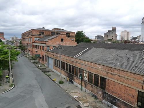 Antiga fábrica da Ford, no bairro do Bom Retiro. Foi daqui que sairam os primeiros Ford.