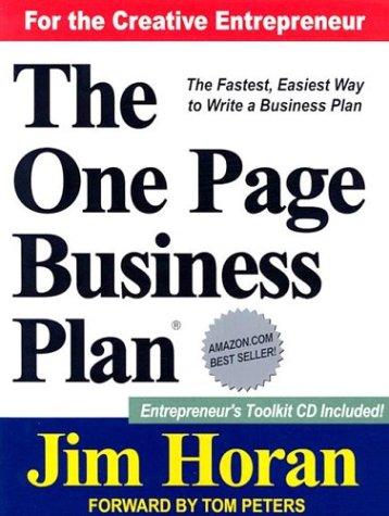 Kế hoạch kinh doanh trên 1 trang giấy