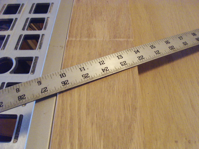 Tilted Ruler