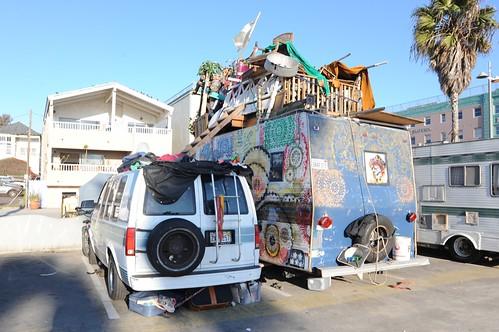 Car Camping Venice Beach