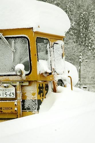 Stranded Snow Plow