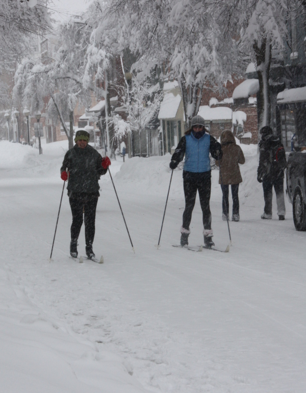 Skiiers!