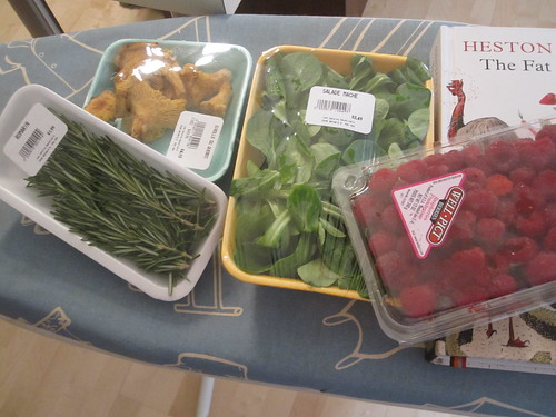 Bit of groceries from Marché Maisonneuve - $11.57