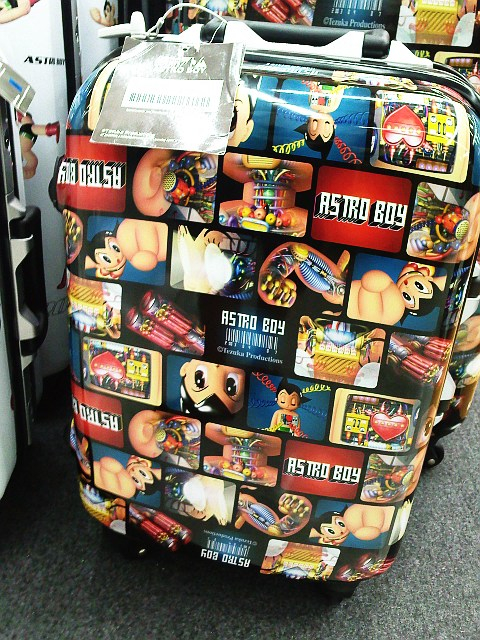 I spotted these official Astro Boy luggage bags at Carrefour. Are they cool ...
