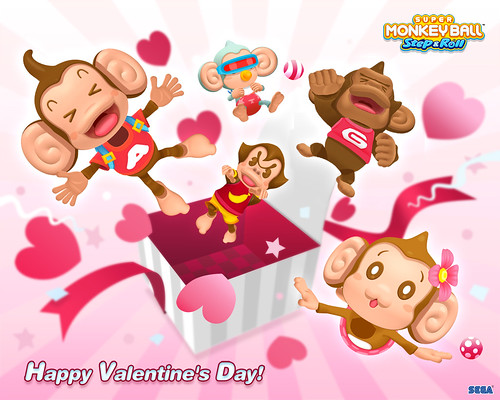 Super Monkey Ball Step & Roll Valentines_1280