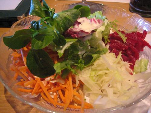 Salat at Alpenblick